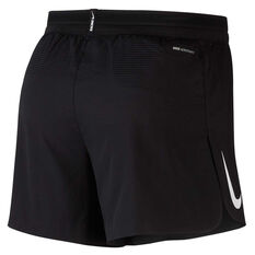 Nike Mens AeroSwift 5 Inch Running Shorts Black S, Black, rebel_hi-res