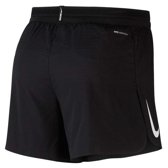 Nike Mens AeroSwift 5 Inch Running Shorts, Black, rebel_hi-res