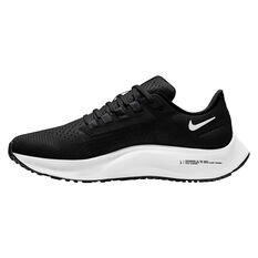 Nike Air Zoom Pegasus 38 Womens Running Shoes Black/White US 6, Black/White, rebel_hi-res