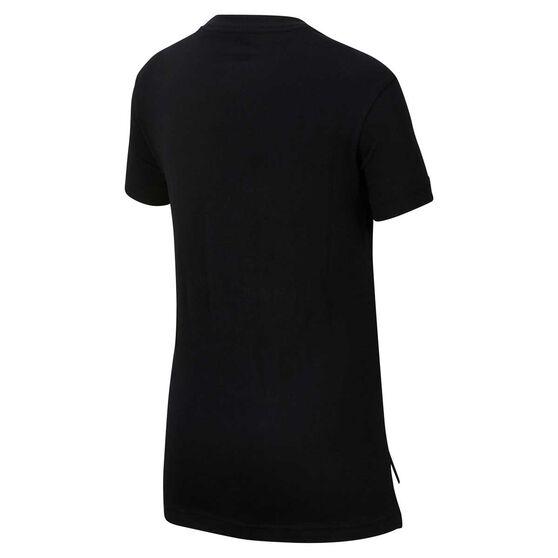 Nike Sportwear Girls Tee, Black, rebel_hi-res