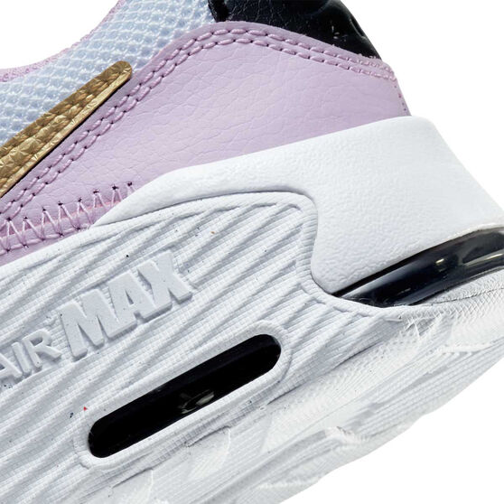 Nike Air Max Excee Kids Casual Shoes, Purple/White, rebel_hi-res