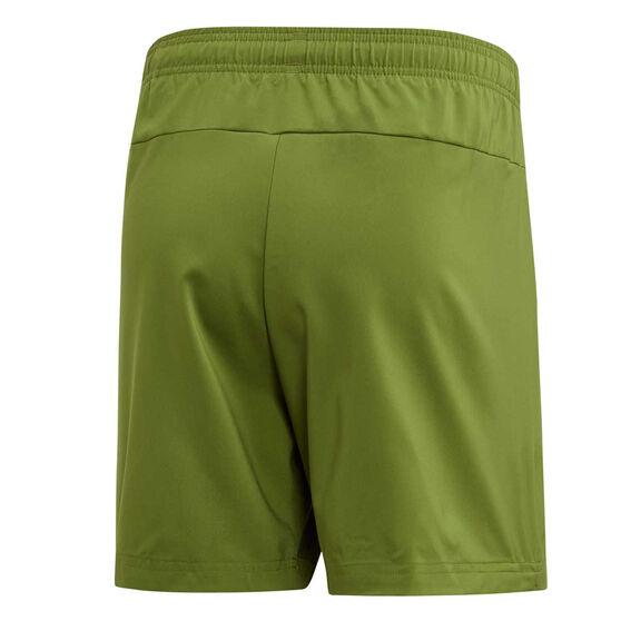 adidas Mens Essentials Plain Chelsea Shorts, Green, rebel_hi-res