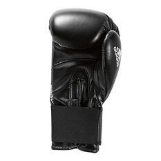 adidas Speed 50 Boxing Gloves Black / White 8oz, Black / White, rebel_hi-res