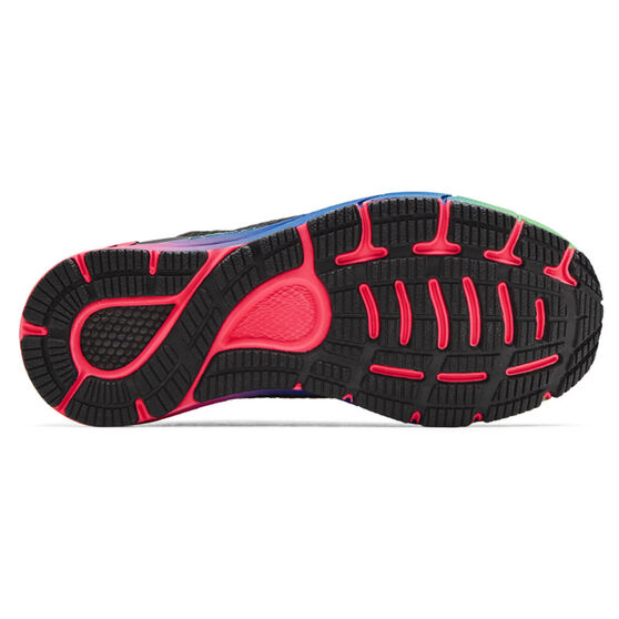 Under Armour HOVR Sonic 4 Womens Running Shoes, Grey/Pink, rebel_hi-res