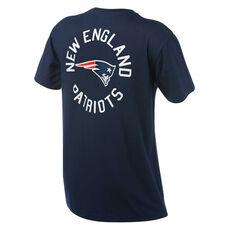 New England Patriots Mens Drimer Tee Navy S, Navy, rebel_hi-res
