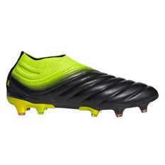 adidas Copa 19+ Mens Football Boots Black / Yellow US Mens 7 / Womens 8, Black / Yellow, rebel_hi-res