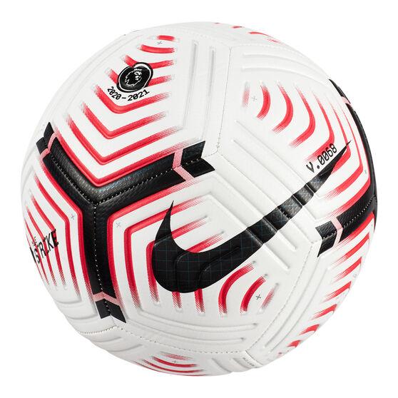 Nike Premier League Strike Soccer Ball, White, rebel_hi-res