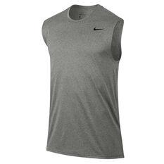 Nike Mens Legend 2.0 Training Tank, Grey / Black, rebel_hi-res