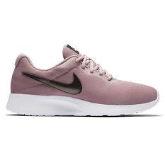 Nike Tanjun Womens Casual Shoes Pink US 6, Pink, rebel_hi-res