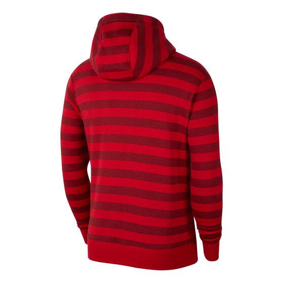 Liverpool FC 2021/22 Mens Sportswear Club Fleece Hoodie, Red, rebel_hi-res