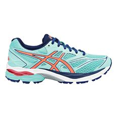 Asics Gel Pulse 8 Womens Running Shoes Green / Orange US 6, Green / Orange, rebel_hi-res