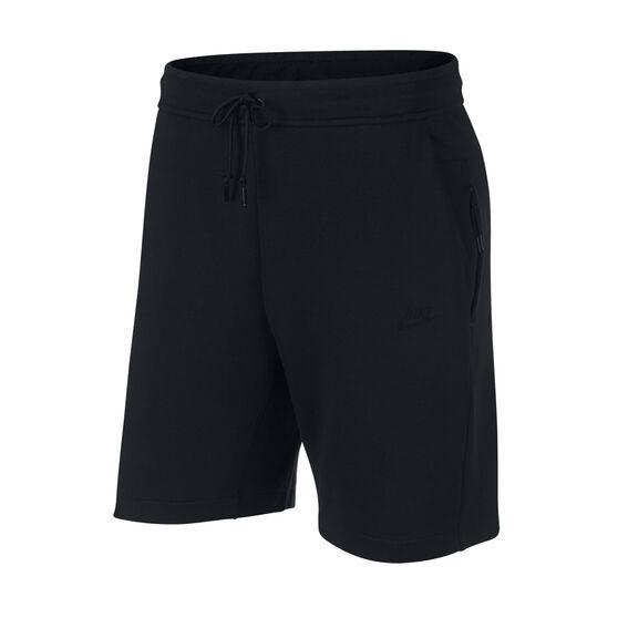 Nike Mens Sportswear Tech Fleece Shorts, Black, rebel_hi-res