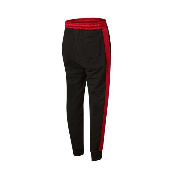 Nike Boys Jordan Remastered HBR Pants, Black / Red, rebel_hi-res