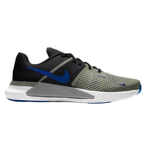 Nike Renew Fusion Mens Training Shoes, Khaki/Black, rebel_hi-res