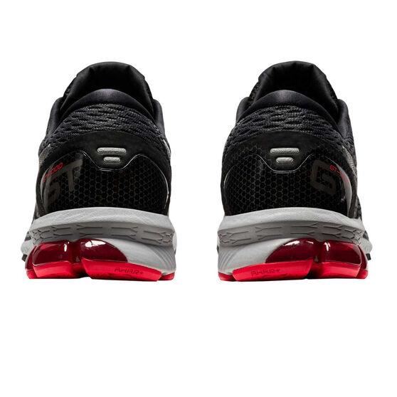 Asics GT 1000 9 2E Mens Running Shoes, Grey/Black, rebel_hi-res