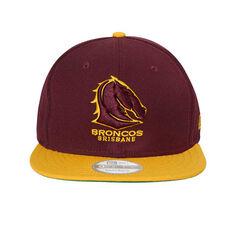 Brisbane Broncos New Era 9FIFTY Throwback Cap, , rebel_hi-res