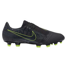 Nike Phantom Venom Academy Football Boots Black / Yellow US Mens 7 / Womens 8.5, Black / Yellow, rebel_hi-res