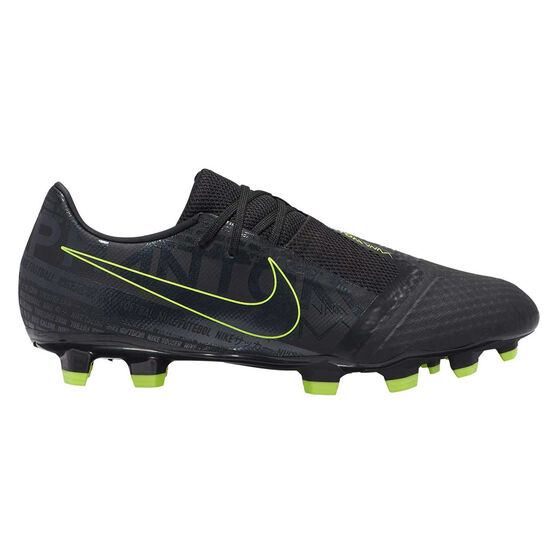 Nike Phantom Venom Academy Football Boots Black / Yellow US Mens 10.5 / Womens 12, Black / Yellow, rebel_hi-res