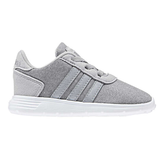 adidas Lite Racer Toddlers Shoes, Grey / Silver, rebel_hi-res