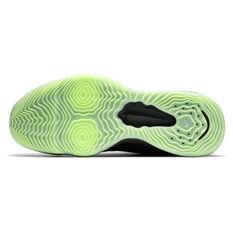 Nike Air Zoom BB Next % Mens Basketball Shoes, Black/Green, rebel_hi-res