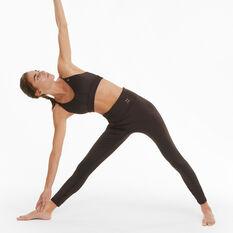Puma Womens Exhale High Waist Training Tights, Brown, rebel_hi-res