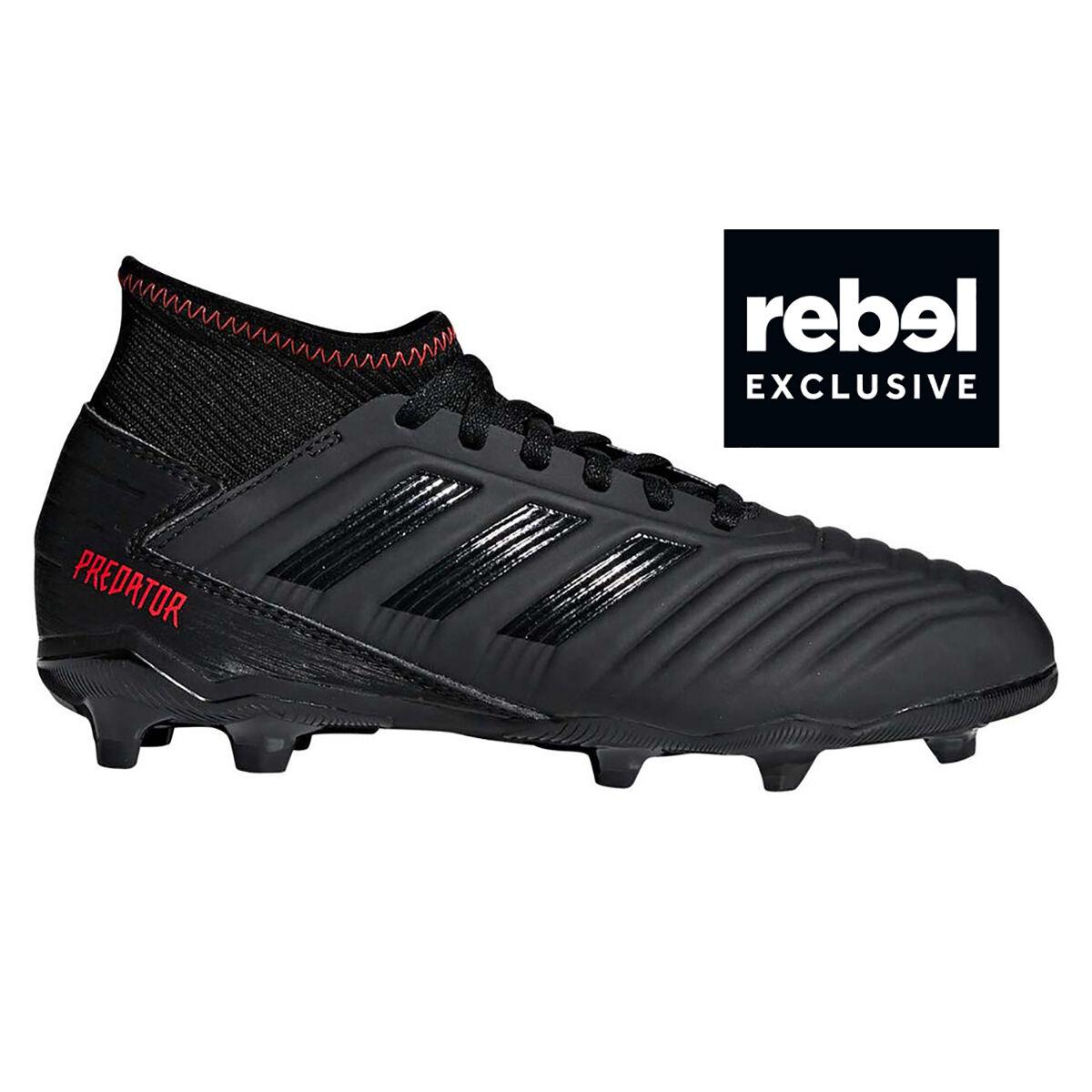 b17ad7e8084 ... best price adidas predator 19.3 kids football boots black red rebelhi  res aae47 97a4f