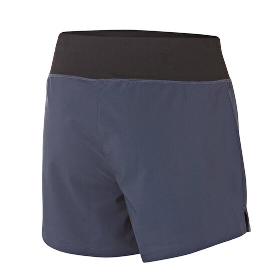 Reebok Womens WOR Woven 5in Shorts, Navy, rebel_hi-res
