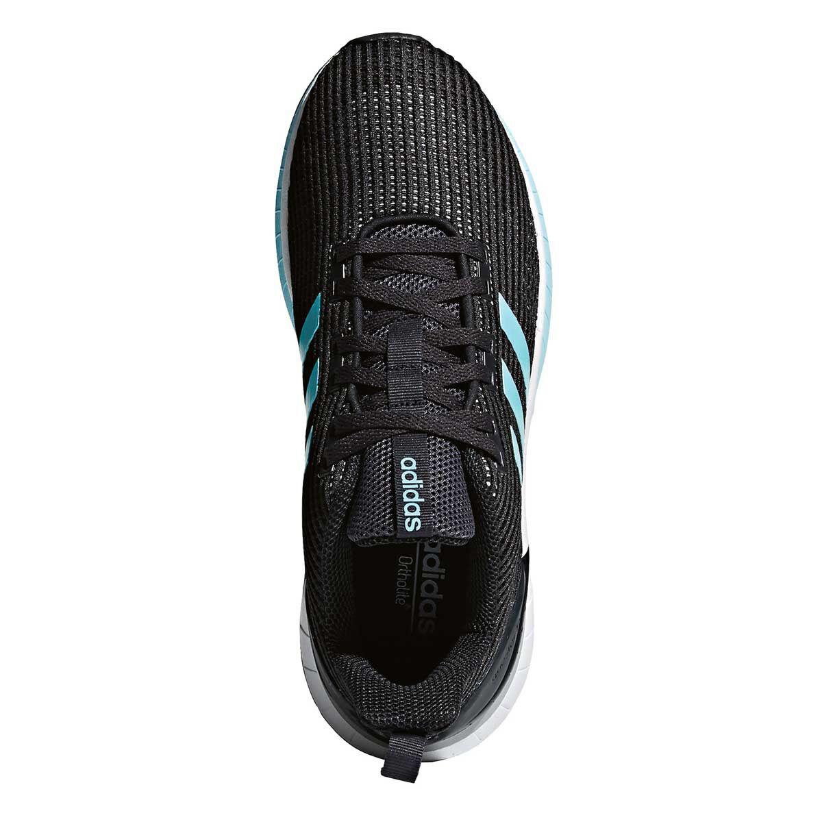 adidas questar e le donne scarpe da corsa nero / grigio 6 rebel sport
