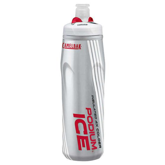 Camelbak Podium Ice 600ml Water Bottle Red 600ml, Red, rebel_hi-res