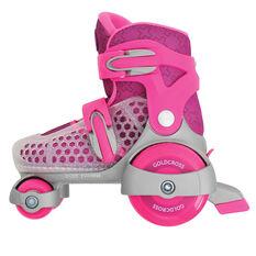 Goldcross 145 Roller Skates Pink US 7-11, Pink, rebel_hi-res