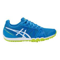 Asics GEL Firestorm 3 Junior Track Shoes Black / Blue US 13, Black / Blue, rebel_hi-res