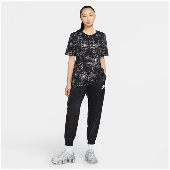Nike Womens Icon Clash Sportswear Tee, Black, rebel_hi-res