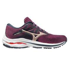 Mizuno Wave Inspire 17 Womens Running Shoes Purple US 6, Purple, rebel_hi-res