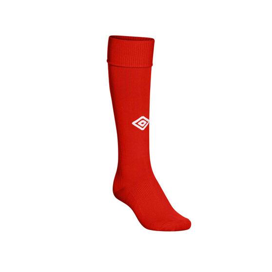 Umbro Mens League Socks, Red, rebel_hi-res