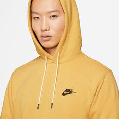 Nike Mens Sportswear Pullover Hoodie Yellow XS, Yellow, rebel_hi-res