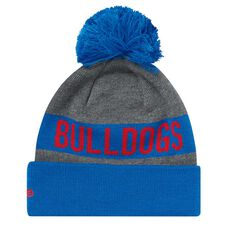 Western Bulldogs 2018 New Era Jake Beanie Grey OSFA, , rebel_hi-res