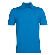 Under Armour Mens Performance Textured Polo Blue S, Blue, rebel_hi-res