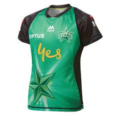 Melbourne Stars 2019 Kids Jersey Green 8, Green, rebel_hi-res