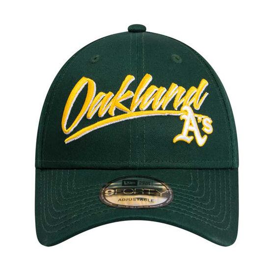 Oakland Athletics 2019 New Era 9FORTY Retro Script Cap, , rebel_hi-res