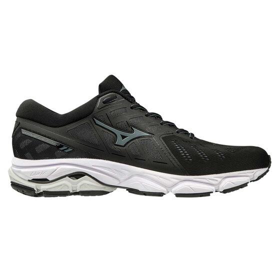 Mizuno Wave Ultima 11 Mens Running Shoes, Black / White, rebel_hi-res