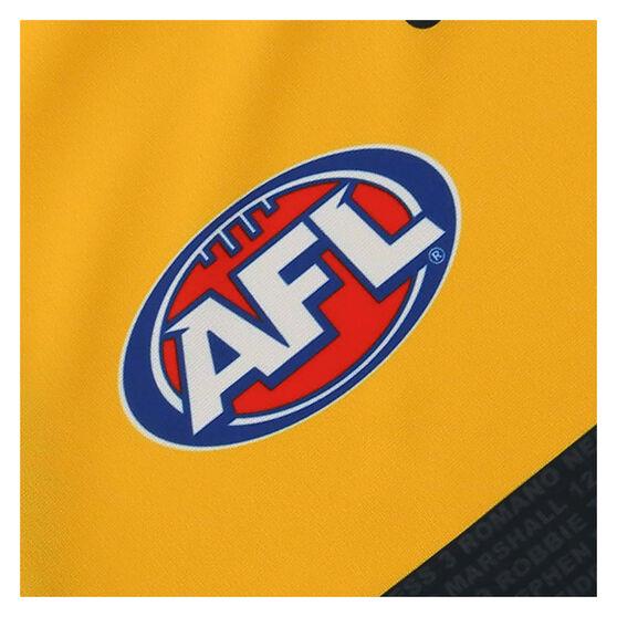 Adelaide Crows 2021 Mens Away Guernsey, Yellow, rebel_hi-res