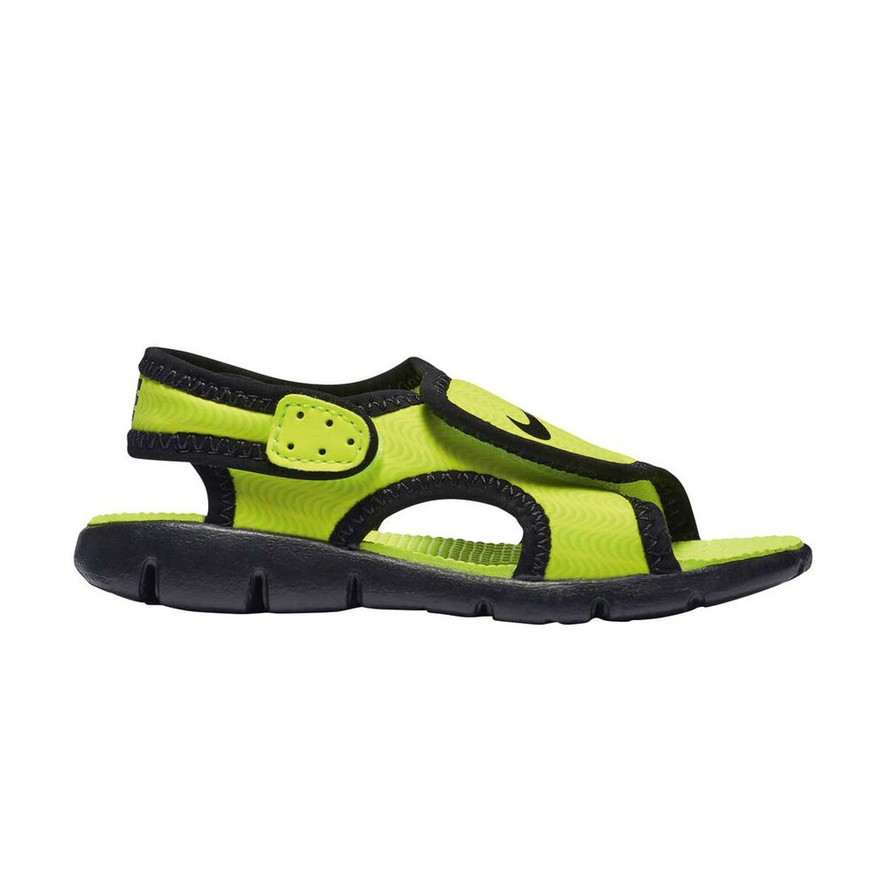 6b3938a0312f Nike Sunray Adjust 4 Toddlers Sandals Yellow   Black US 4