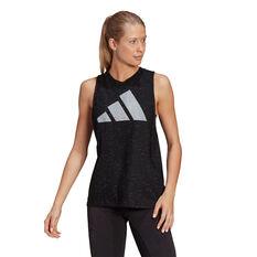 adidas Womens Winners 2.0 Tank Black XS, Black, rebel_hi-res