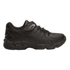 Asics Gel 540TR Leather Junior Cross Training Shoes White / Black US 8, White / Black, rebel_hi-res