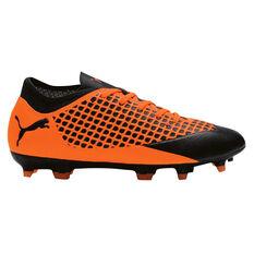 Puma Future 2.4 Junior Football Boots Black / Orange US 1, Black / Orange, rebel_hi-res