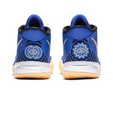 Nike Kyrie 7 Kids Basketball Shoes Blue US 4, Blue, rebel_hi-res