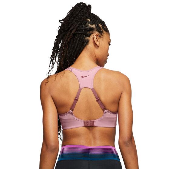 Nike Womens Dri-FIT Alpha High Support Sports Bra, Pink, rebel_hi-res