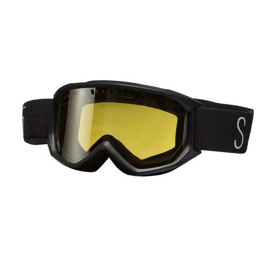 SVNT5 Mens Dogleg Ski Goggles Black, , rebel_hi-res
