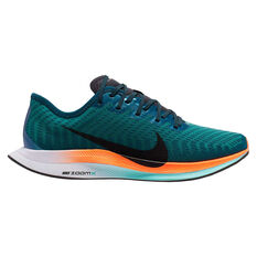 Nike Zoom Pegasus Turbo 2 Hokane Womens Running Shoes Green / Black US 6.5, Green / Black, rebel_hi-res