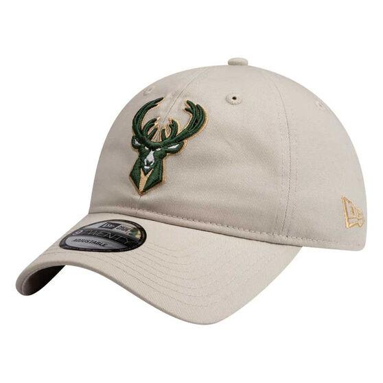Milwaukee Bucks New Era 9TWENTY Stone Cap, , rebel_hi-res